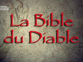Documentaire La bible du diable