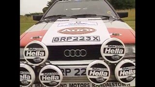 Documentaire L'Audi Quattro
