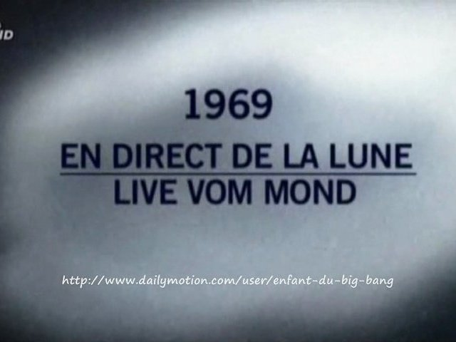 Documentaire 1969, en direct de la lune