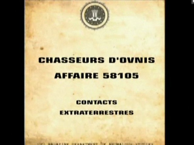 Documentaire Chasseurs d'OVNIs – Contacts extraterrestres