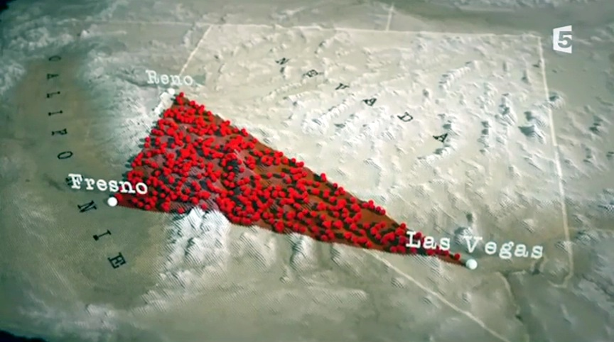 Documentaire Le mystère du triangle du Nevada