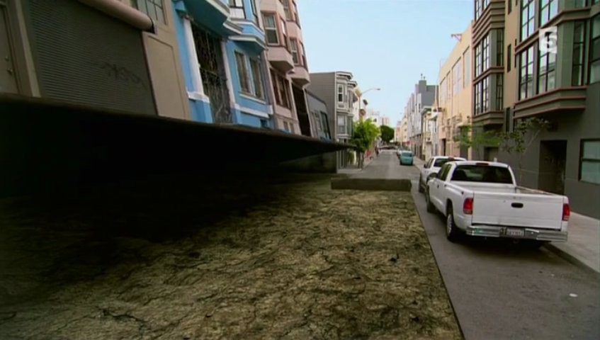 Documentaire Les dessous de San Francisco, la ville qui tremble