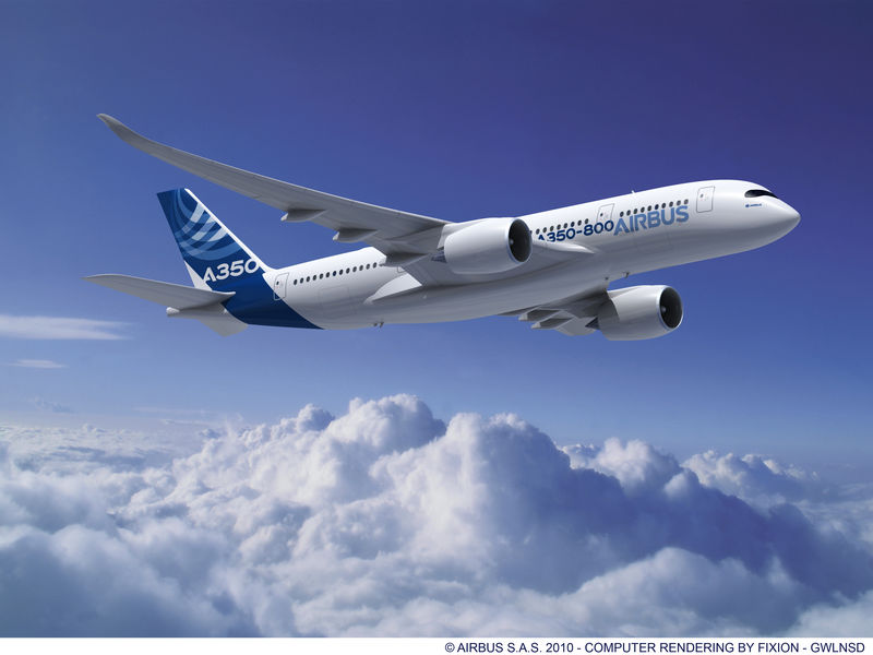 Documentaire Airbus A350 : nouvelle star des airs