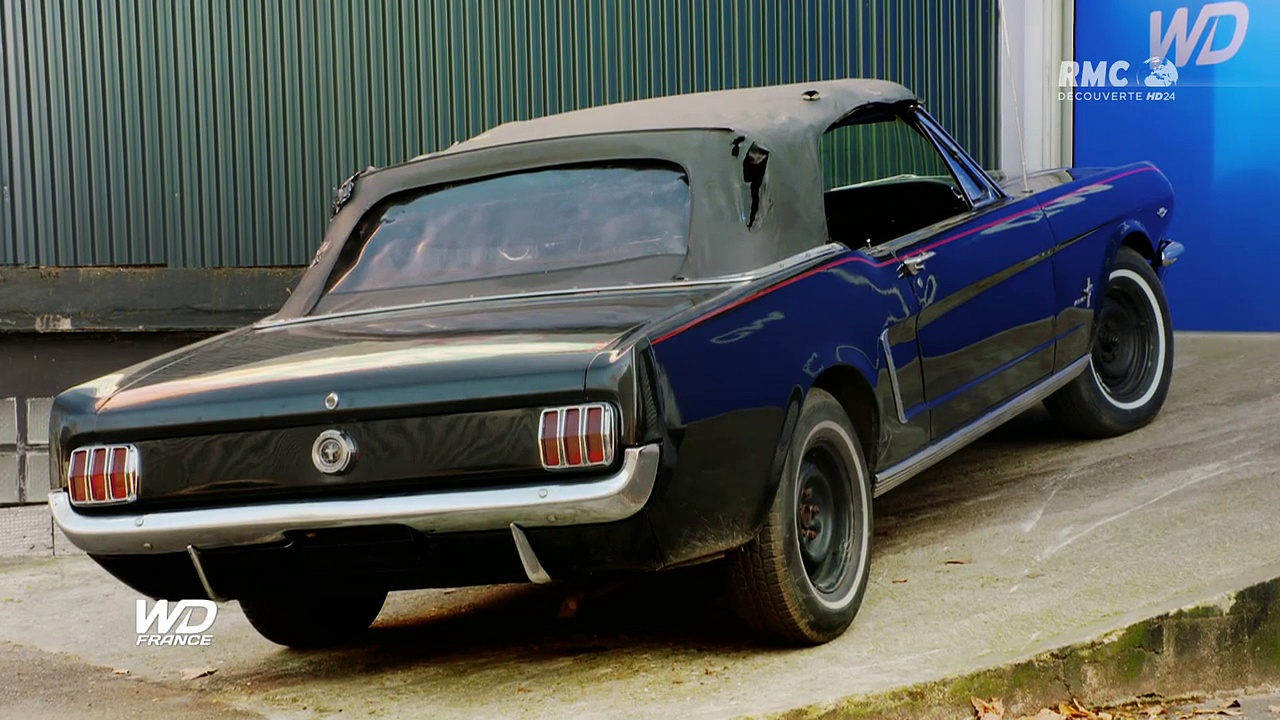 documentaire wheeler dealers france ford mustang cabriolet en streaming les. Black Bedroom Furniture Sets. Home Design Ideas