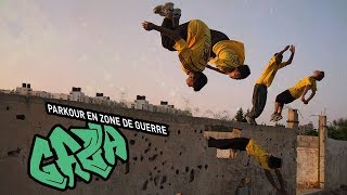 Documentaire Gaza : parkour en zone de guerre