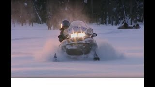 Documentaire Skidoo, la passion du froid