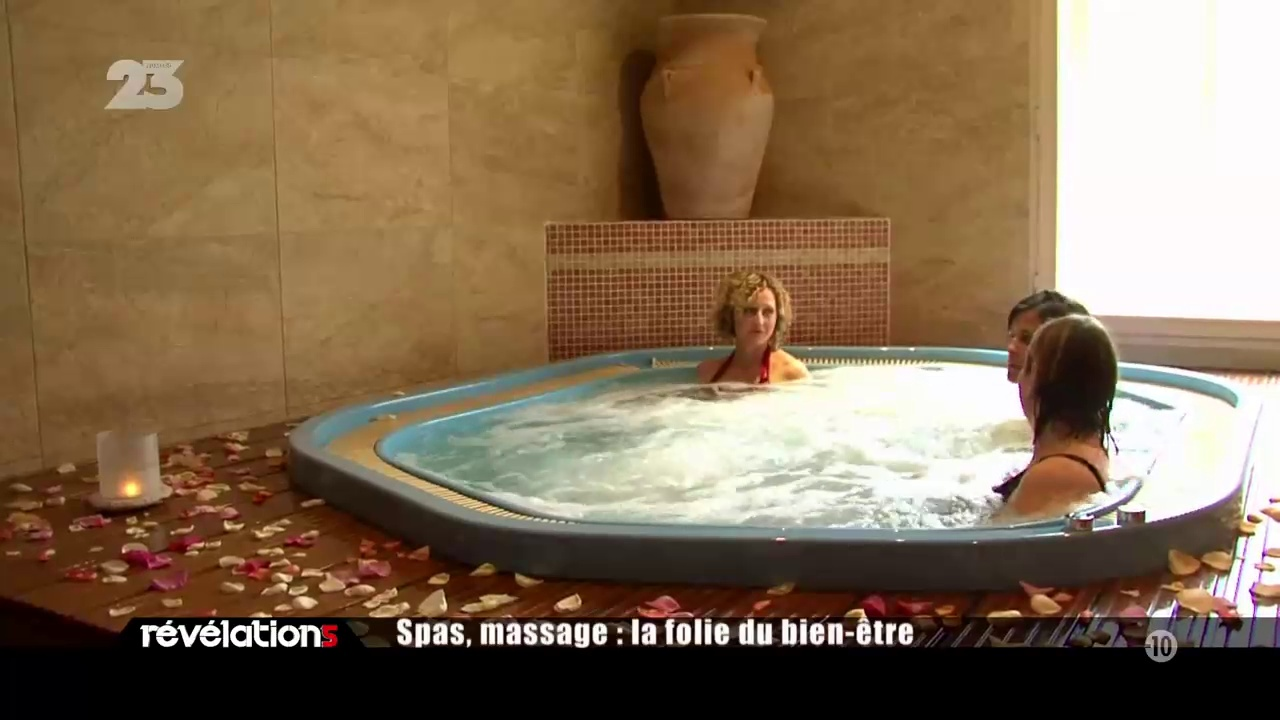 Documentaire Spas, massage : la folie du bien-être (1/2)