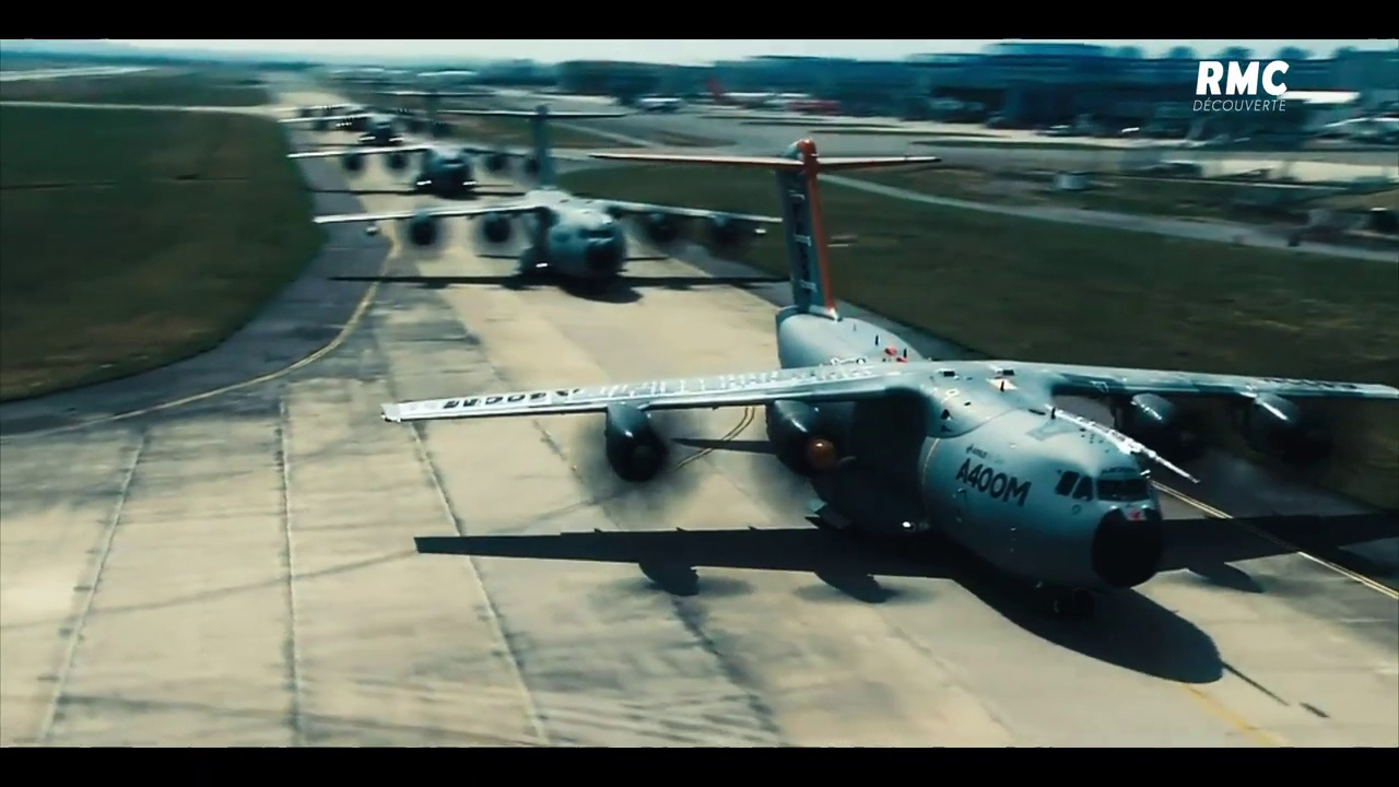 Documentaire A400m, l'Airbus militaire de pointe