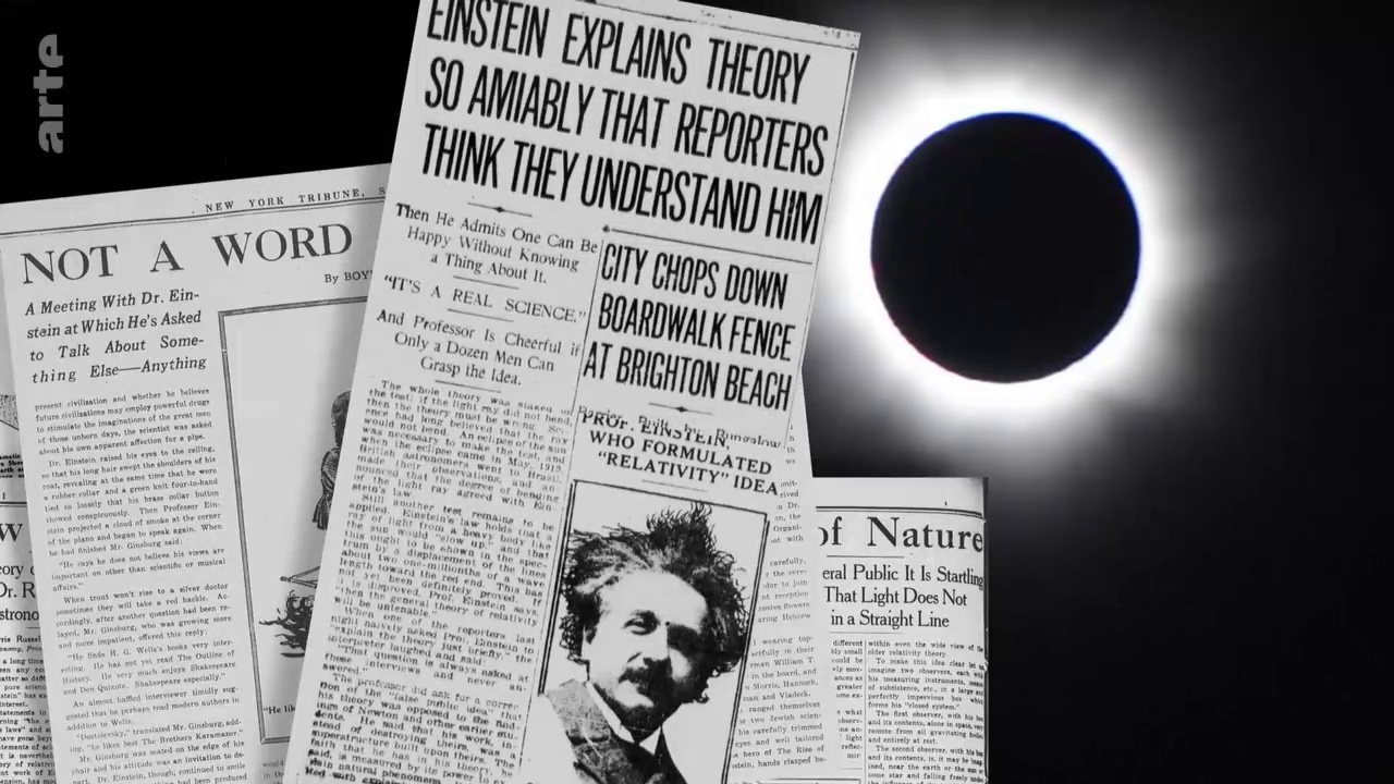 Documentaire Entre terre et ciel – Albert Einstein reconstruit l'univers