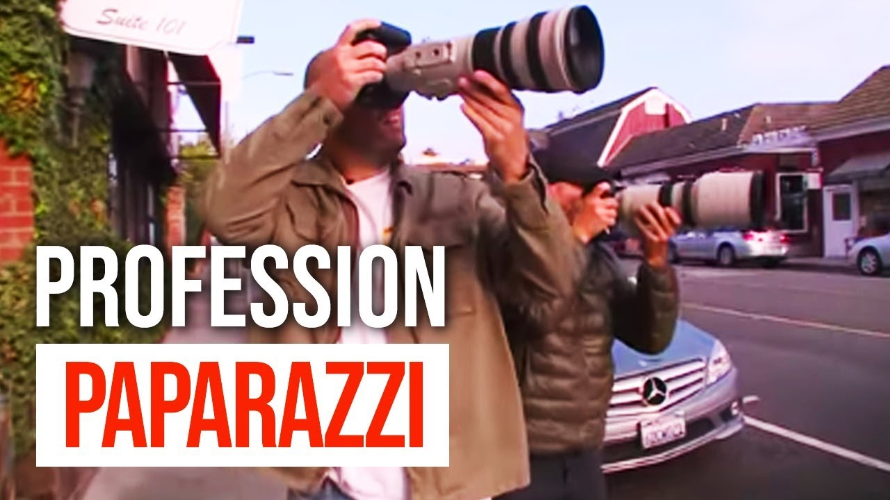 Documentaire Profession : paparazzi