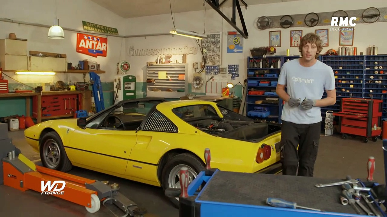 Documentaire Wheeler Dealers France – Ferrari 308 GTSi
