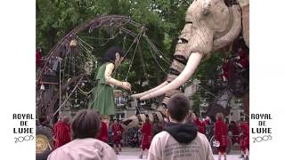 Royal de Luxe : la visite du sultan des Indes