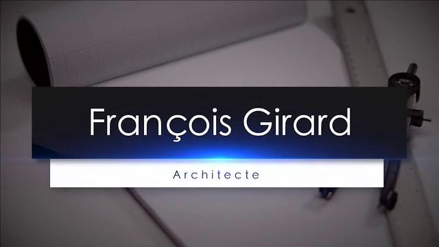Documentaire François Girard : architecte