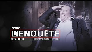 Documentaire Depardieu, l'homme sans limites