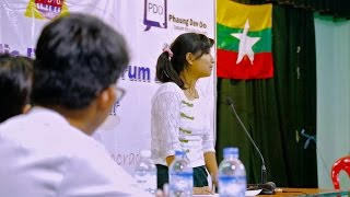 Documentaire Au Myanmar, transition vers la démocratie
