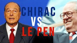 Le Pen contre Chirac : 21 avril 2002