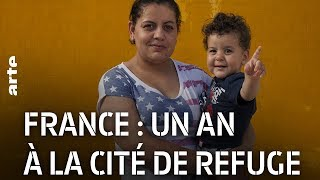 Documentaire France : un an à la Cité de Refuge