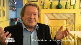 Documentaire Secrets d'Histoire – Claude Monet : jardins secrets à Giverny