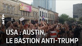 USA : Austin, le bastion anti-Trump