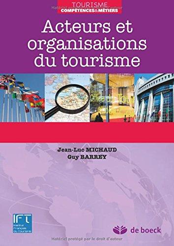 Acteurs et organisations du tourisme (2012)