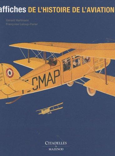 Affiches de l'histoire de l'aviation