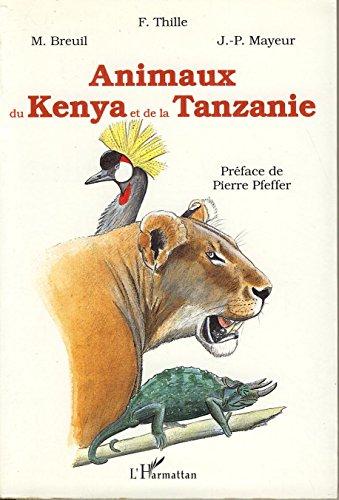 Animaux du Kenya et de la Tanzanie