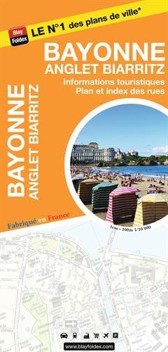 Bayonne Anglet Biarritz : 1/10 000, avec livret