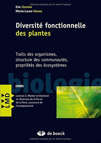 Diversité fonctionnelle des plantes (2013)