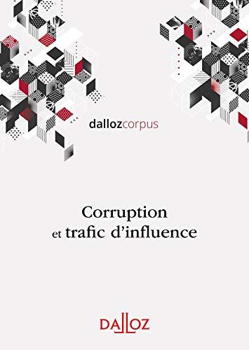 Corruption et trafic d'influence - Nouveauté