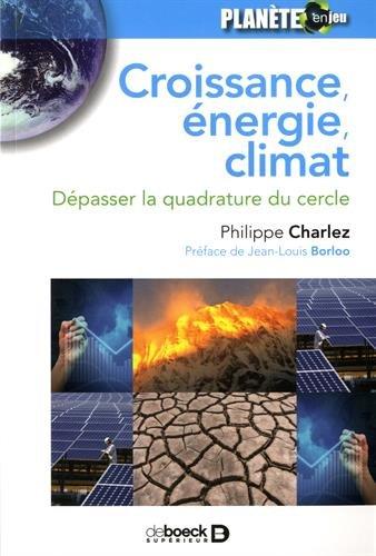 Croissance energie climat