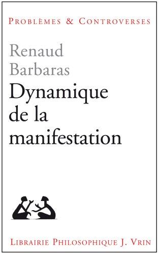 Dynamique de la manifestation