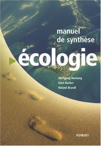 Manuel de synthèse écologie