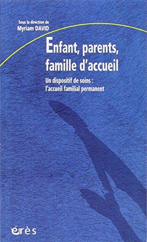 Enfant, parents, famille d'accueil