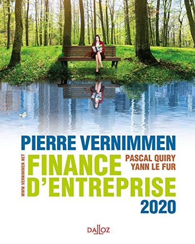 Finance d'entreprise 2020 - 18e ed.
