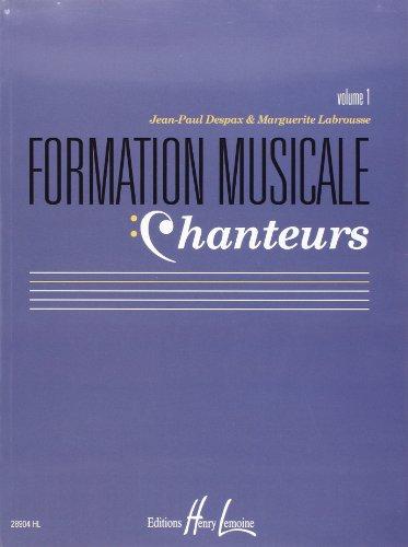 Formation musicale chanteurs Vol.1