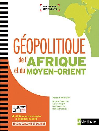Géopolitique de l'Afrique et du Moyen-Orient