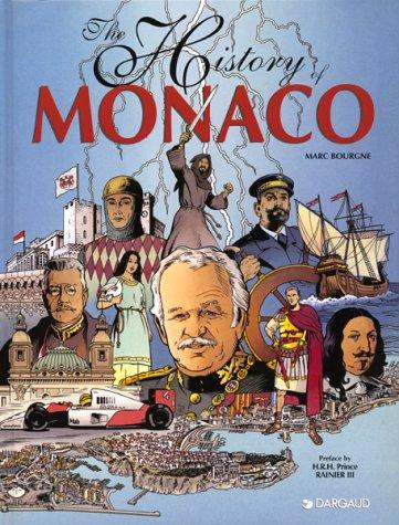 HISTOIRE DE MONACO. Edition en anglais