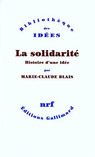 La solidarité: Histoire d'une idée