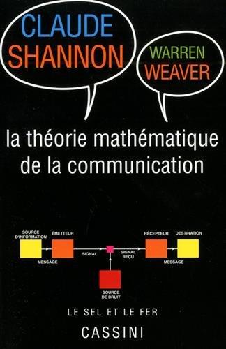 Théorie mathématique de la communication (2018)