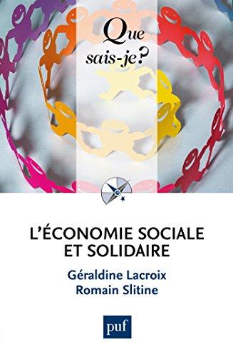 L'économie sociale et solidaire: « Que sais-je ? » n° 4070
