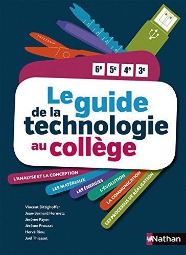 Le Guide de la technologie au collège