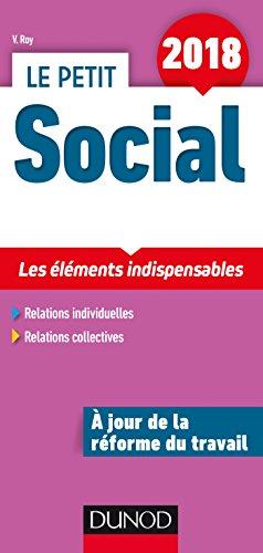 Le Petit Social 2018 - 13e ed. - Les éléments indispensables: Les éléments indispensables (2018)
