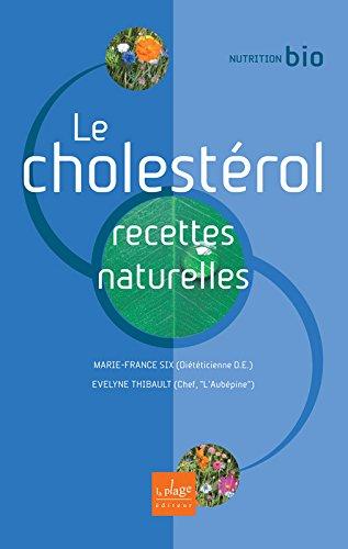 Le cholestérol, recettes naturelles
