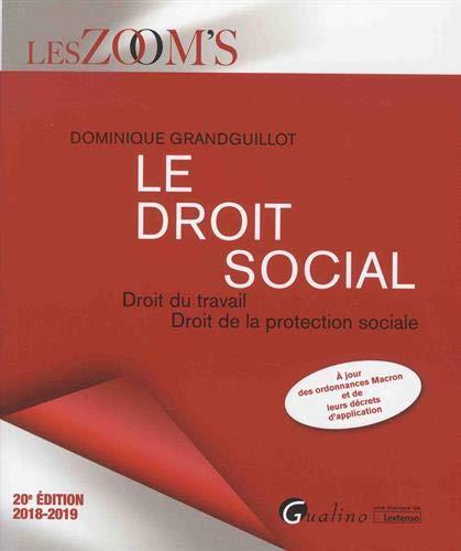 Le droit social : Droit du travail, Droit de la protection sociale