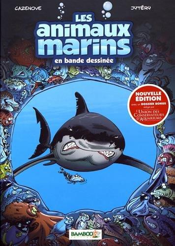 Les Animaux marins en BD - tome 01