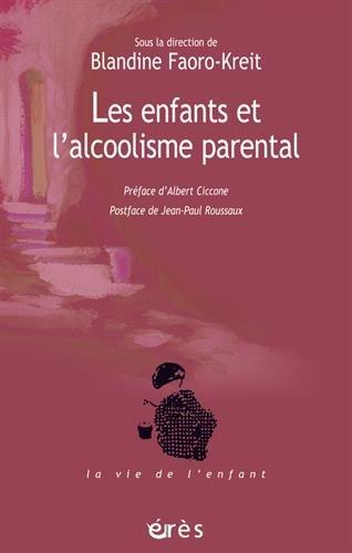 Les enfants et l'alcoolisme parental: La question de la transmission et l'apport de la fratrie comme modèle…