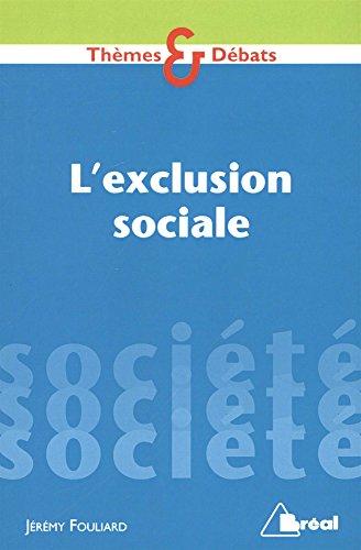 L'exclusion sociale