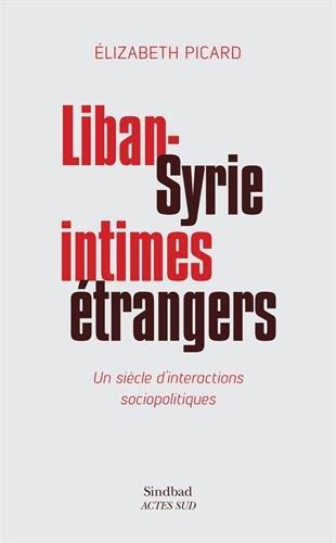 Liban-Syrie, intimes étrangers : Un siècle d'interactions sociopolitiques