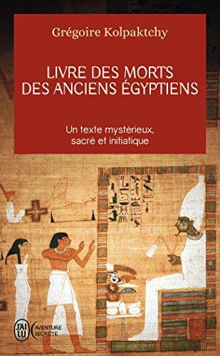 Livre des morts des anciens Égyptiens