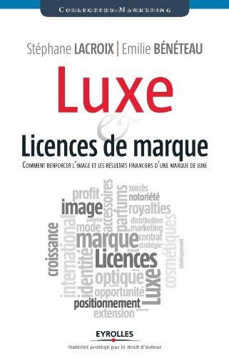 Luxe et licences de Marque : Comment renforcer l'image et les résultats financiers d'une marque de luxe